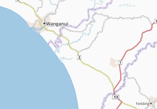 Turakina Map