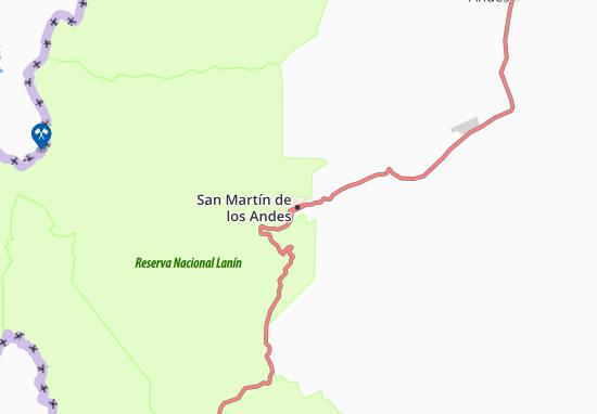 San Martín de los Andes Map
