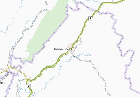 Mappe-Piantine Dannevirke