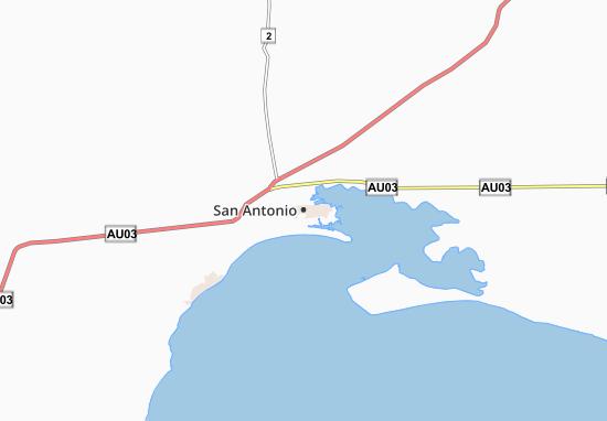 Mapas-Planos San Antonio