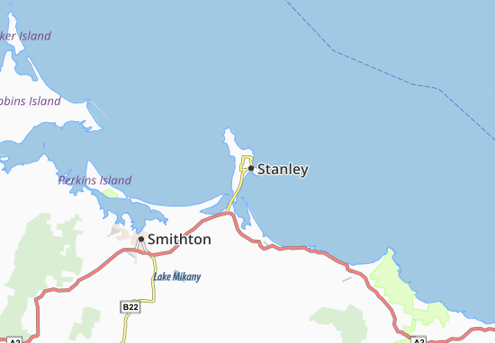 Stanley Map