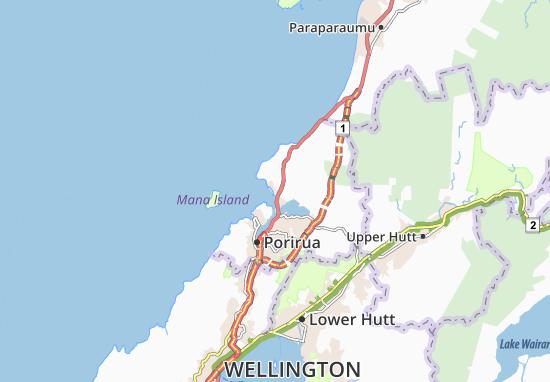 Carte-Plan Plimmerton