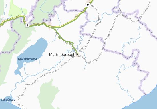 Mapas-Planos Martinborough