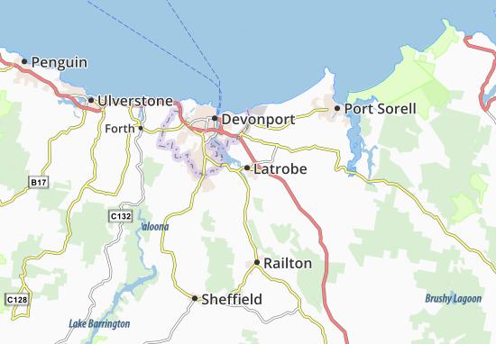 Latrobe Map
