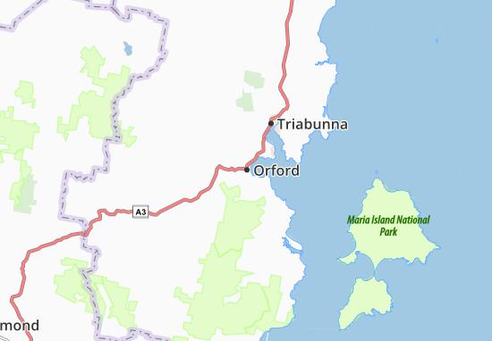 Carte-Plan Orford