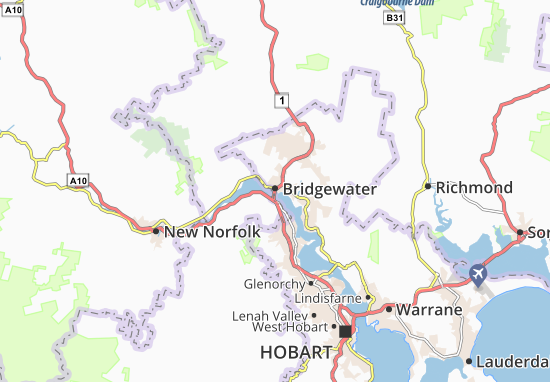 Bridgewater Map