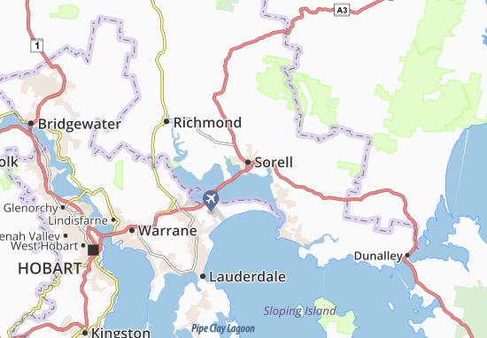 Sorell Map