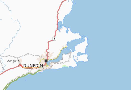 Carte-Plan Port Chalmers