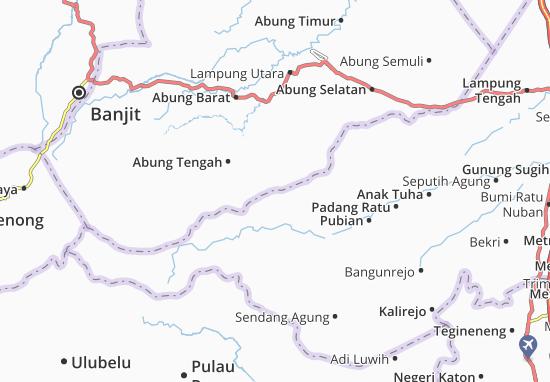 Selagai Lingga Map