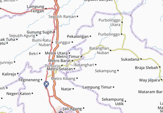 Mapas-Planos Metro Timur