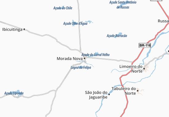 Mappe-Piantine Morada Nova