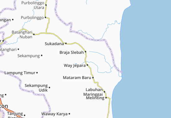 Braja Slebah Map