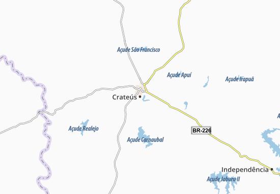 Mappe-Piantine Crateús