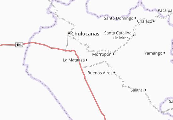 Mapa Plano La Matanza