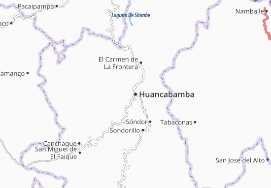 Carte-Plan Huancabamba