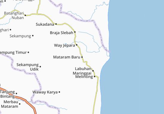Mataram Baru Map
