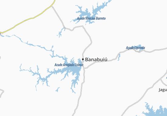 Mapas-Planos Banabuiú
