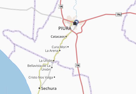Cura Mori Map