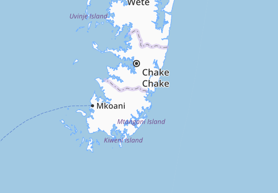 Mapa Plano Chambani