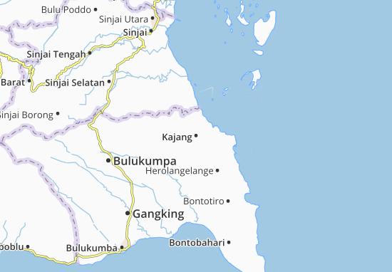 Map of Kajang - Michelin Kajang map - ViaMichelin
