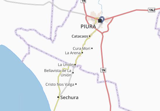 Mappe-Piantine La Arena