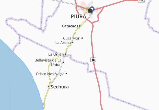 Mappe-Piantine El Tallán