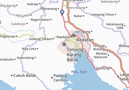 Mappe-Piantine Tanjung Karang Barat