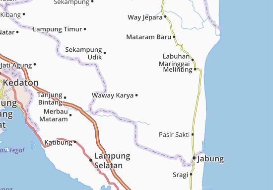 Waway Karya Map