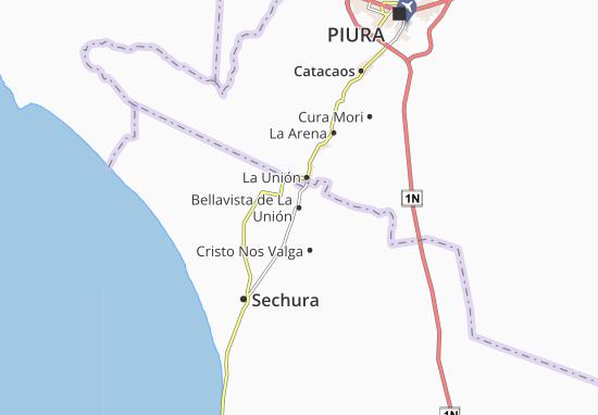 Mapas-Planos Bellavista de La Unión