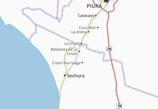 Mappe-Piantine Rinconada Llicuar