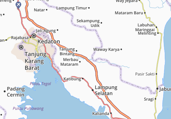 Merbau Mataram Map