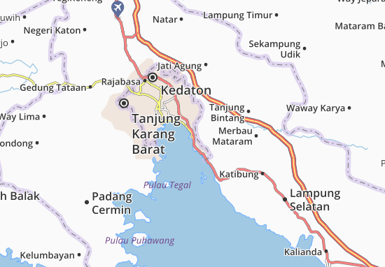 Kaart Plattegrond Panjang