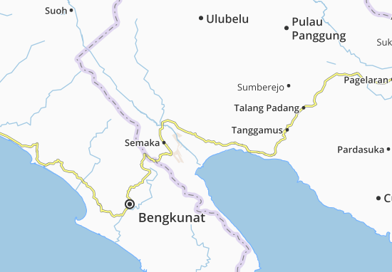 Wonosobo Map