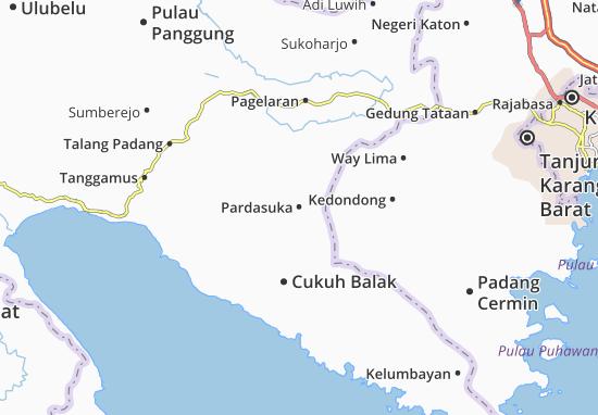 Carte-Plan Pardasuka