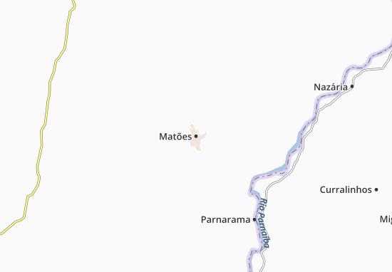 Matões Map