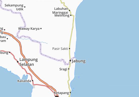 Pasir Sakti Map