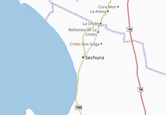 Sechura Map