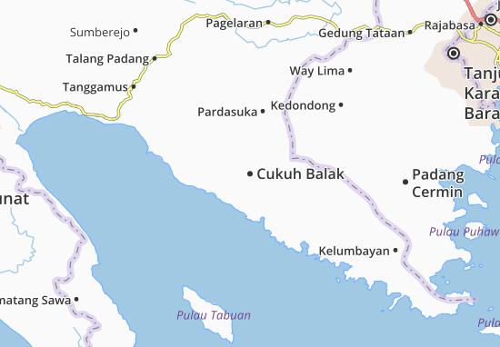 Cukuh Balak Map
