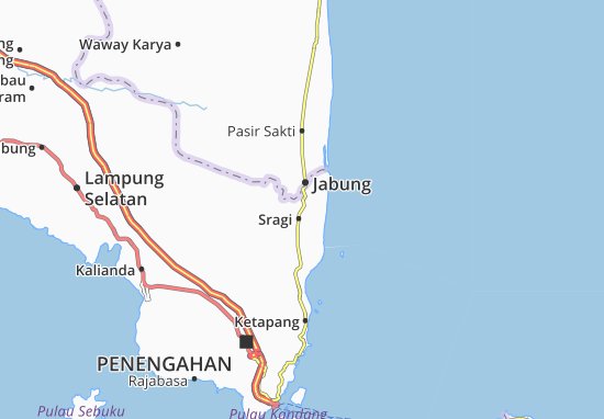 Sragi Map
