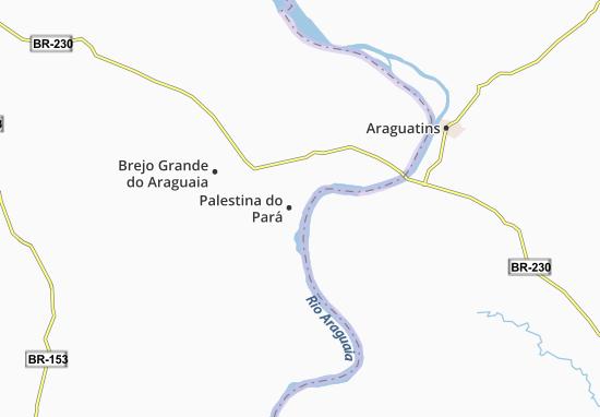 Carte-Plan Palestina do Pará