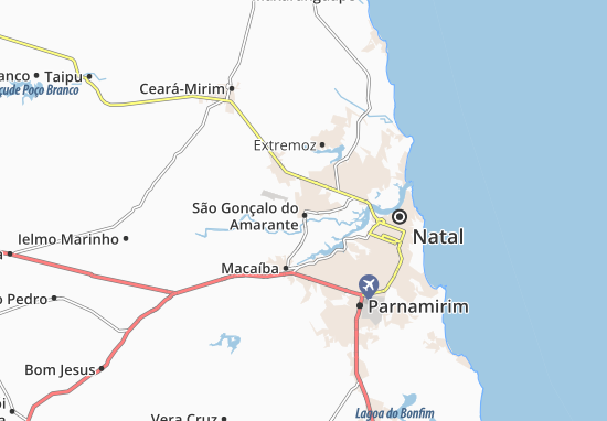 Mappe-Piantine São Gonçalo do Amarante