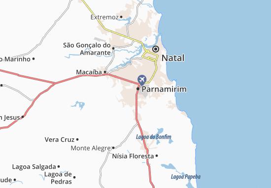 Mappe-Piantine Parnamirim