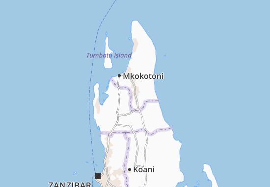 Mapa Plano Chaani Masingini