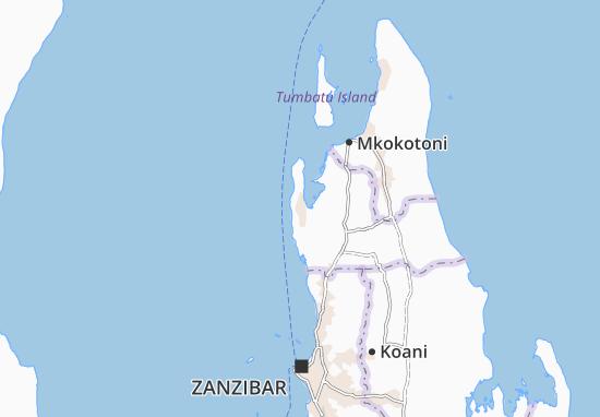 Bumbwini Map