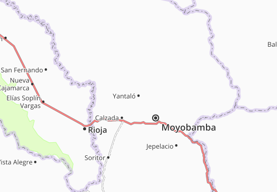 Yantaló Map