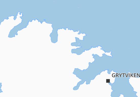 Kaart Plattegrond Husvik