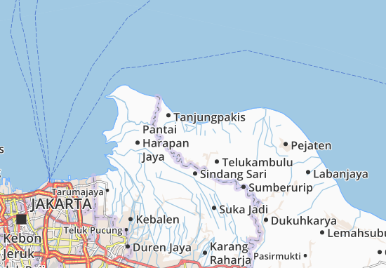 Carte-Plan Pakisjaya