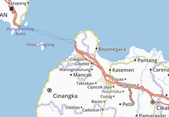 Cilegon-Kodya Map