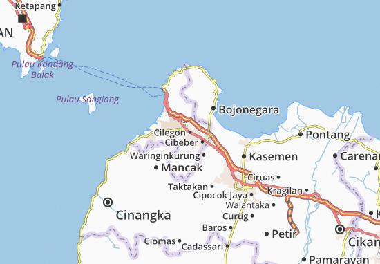 Cilegon Map