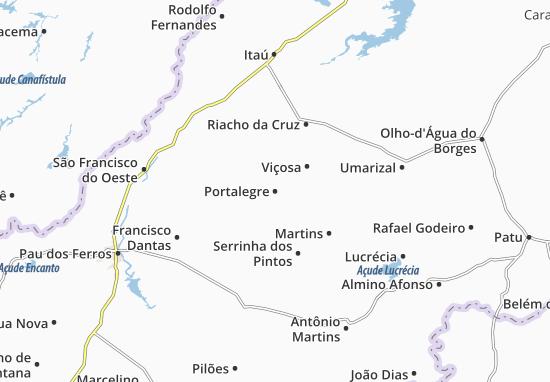 Carte-Plan Portalegre